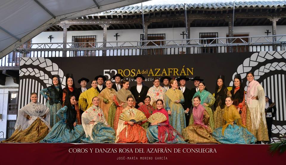 Grupo Coros y Danzas Rosas del Azafrán