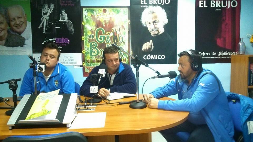 Alberto, Juan y Juanfra