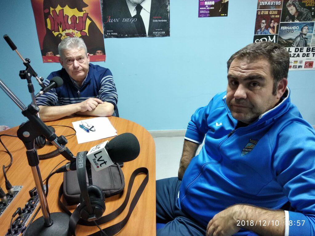 José Segura y Fernando Rodríguez en El Estudio Azul.